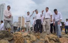Aseguran $100 mil millones contra erosión en Cartagena