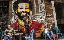 El doble de Mohamed Salah se pasea por las calles de Egipto