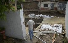 Nueve casas afectadas en San José tras fuertes lluvias de este sábado