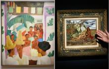 Diego Rivera superó en subasta a Frida Kahlo con 'Los rivales'