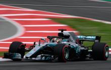 El piloto Lewis Hamilton consigue su segunda 'pole'.