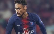 Neymar ya luce la nueva camiseta del PSG