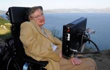 El fallecido científico Stephen Hawking.