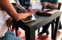 Funcionarios de la Dian realizan actividades para recuperar cartera en Barranquilla.