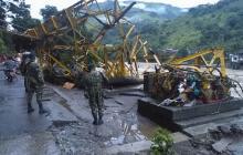 La emergencia en Puerto Valdivia por creciente del río Cauca