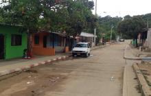 En este sector de la carrera 16 con calle 73 del barrio La Esmeralda se registró el homicidio de Yanis Gerardo Paut Cervantes.