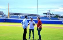 Quinto Guerra, el invitado de Char y Verano al nuevo estadio Édgar Rentería
