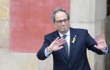 El nuevo presidente catalán, el independentista Quim Torra.