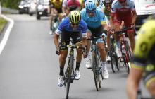 Esteban Chaves, sin opciones de terminar en el podio del Giro de Italia