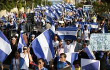 Manifestaciones en Nicaragua.