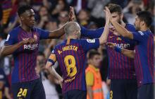 Barcelona despide a Iniesta con un triunfo