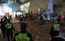 Colapso de teatro antiguo en Argentina deja al menos un muerto