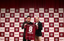 Andrés Iniesta ya fue presentado por su nuevo club