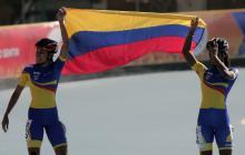Colombia logra primer oro en Cocha-2018 gracias al patinaje