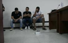 Detenidos por fleteo en San José negaron su participación