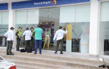 Delincuentes armados roban en sede principal del Banco de Bogotá  en Valledupar
