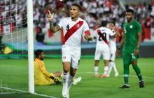 Perú golea 3-0 a Arabia Saudita en amistoso con doblete de Paolo Guerrero