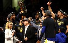 Warriors, campeones de la NBA