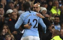 Guardiola fue entrenador de Touré en el Barcelona y en el Manchester City.