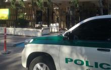 Sede del CTI de la Fiscalía de Santa Marta, donde estaba detenido Gilberto Luna Parra.