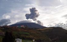 Actividad del volcán Galeras no ha cambiado de alerta amarilla