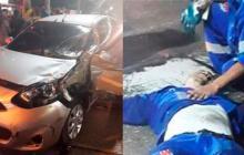 Fallece operario de aseo técnico que fue arrollado por carro en pique ilegal