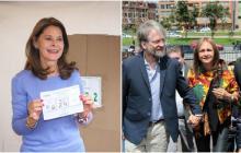 Los 'looks' de las protagonistas de la segunda vuelta