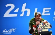 Alonso, un piloto para la eternidad tras ganar  en Le Mans
