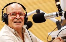 El reconocido locutor Juan Carlos Buggy.