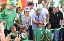Inauguran parque Édgar Perea en la Ciudadela 20 de Julio