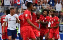 Los panameños festejaron su gol