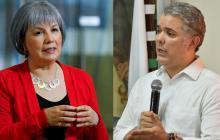 Iván Duque se reúne con Patricia Linares, presidenta de la JEP
