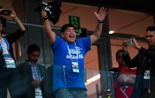 """""""Hay Diego para rato"""": Maradona afirma que está bien de salud"""