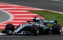 El piloto Lewis Hamilton.