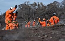 Sube a 113 número de víctimas tras erupción de volcán en Guatemala