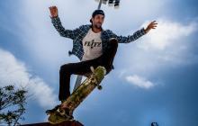 Jonathan Orta, de 32 años, se dedica al skateboarding hace 16.