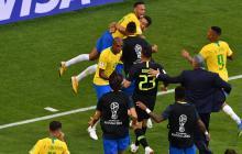 Brasil vence 2-0 a México y se clasifica a los cuartos de final de Rusia-2018