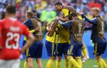 Suecia vece 1-0 a Suiza y clasifica a los cuartos de final de Rusia-2018