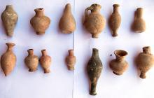 Parte de los objetos encontrados.