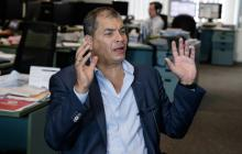 "Correa denuncia un ""complot"" detrás de orden de detención"