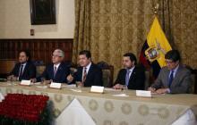 Ecuador se enfrenta a Bolivia y Venezuela por respaldar a Correa
