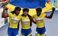 Selección Colombia de patinaje, campeona mundial de carreras