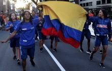 Así celebró Colombia el título mundial de patinaje de carreras en Holanda