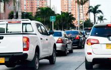 Distrito estudiará restricciones para carros con placas foráneas