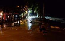 Emergencia por mar de leva en  Ciénaga, Magdalena