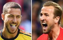 Los delanteros Eden Hazard y Harry Kane, los pilares de Bélgica e Inglaterra en Rusia, respectivamente.
