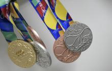 Las medallas llegaron este sábado a Barranquilla desde Bogotá.