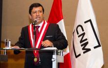 Guido Águila, miembro del Consejo Nacional de la Magistratura (CNM).