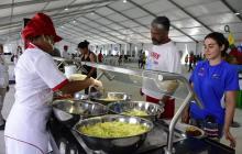 En video | Un recorrido gastronómico por el comedor de la Villa Centroamericana