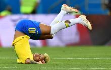 En video | La viral reacción de Neymar burlándose de sí mismo por sus famosas caídas